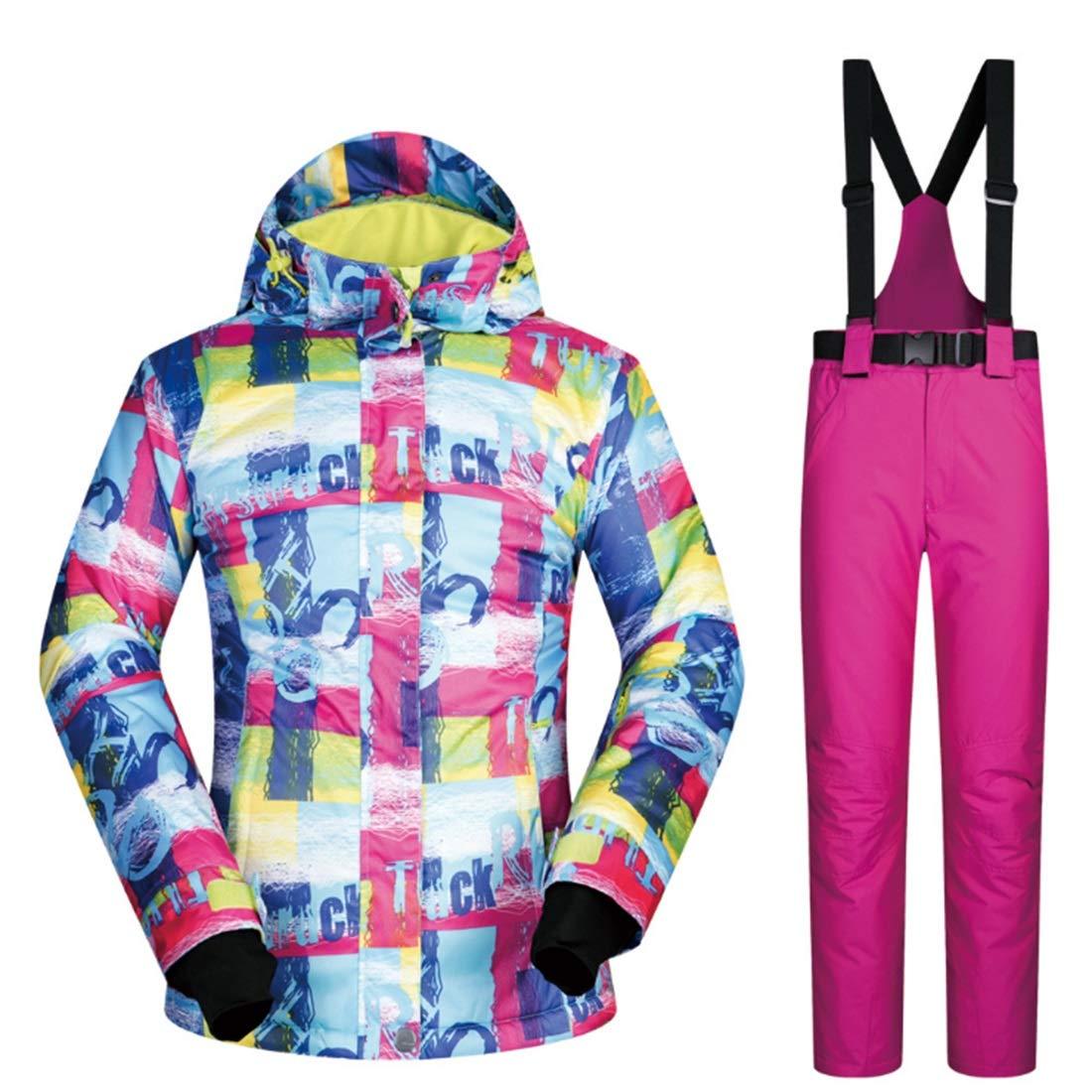 Olprkgdg Giacca da Sci da Donna Impermeabile da Snowboard Snowboard Snowboard Antivento per l'escursionismo all'aperto (Coloree   03, Dimensione   L)B07KWNJ6GMM 06 | Colore Brillantezza  | ecologico  | A Primo Posto Tra Prodotti Simili  | Di Alta Qualità E Poco Costoso   a056e3