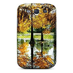 New Arrival Premium S3 Case Cover For Galaxy (autumn Trees In Pond)