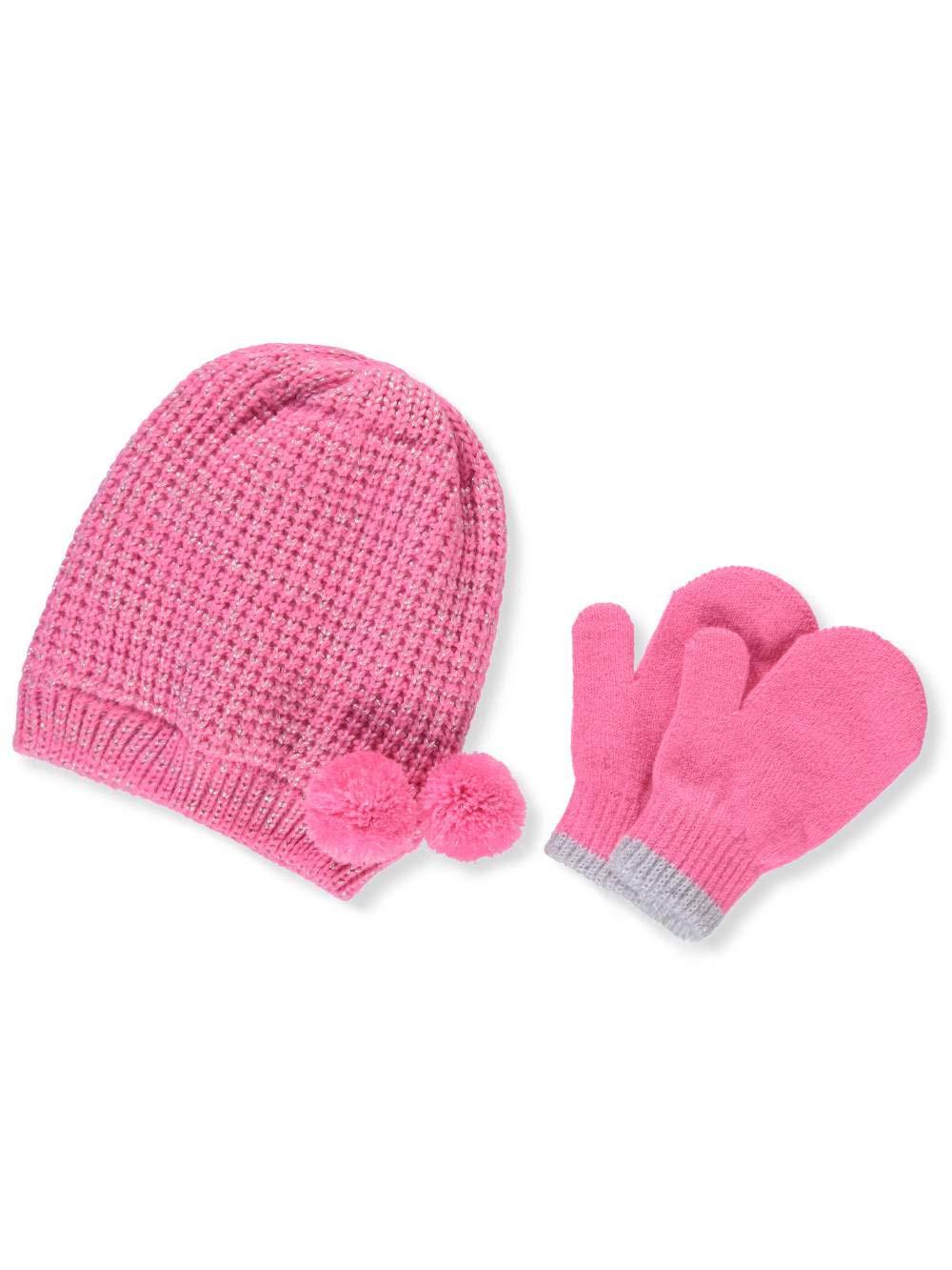 Carter's Baby Girls' Beanie & Mittens Set - pink, 12-24 months Carter's