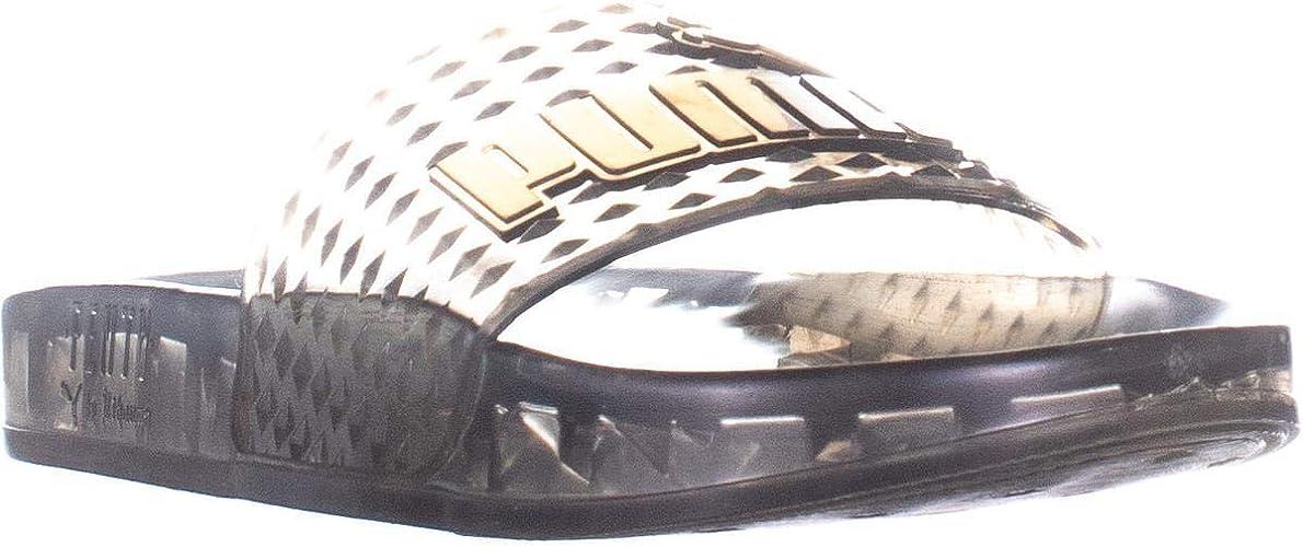 PUMA Fenty by Rihanna Womens Jelly Slide Sandals