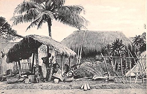 Huts Africa, Afrika Postcard - Africa In Huts