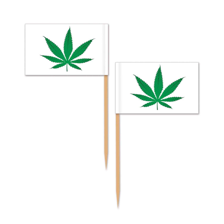 2/½ Multicolor Beistle 60071 Weed Picks