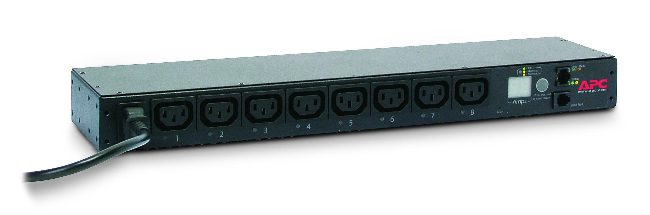 APC External Power Distribution Strip - External Black (AP7920B)