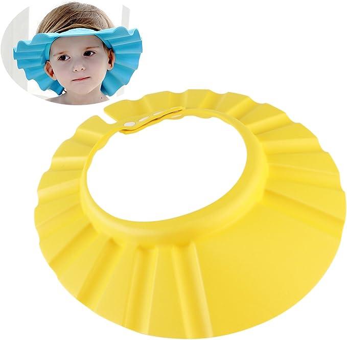 OULII - Gorro de baño ajustable y resistente al agua, ultra ligero ...