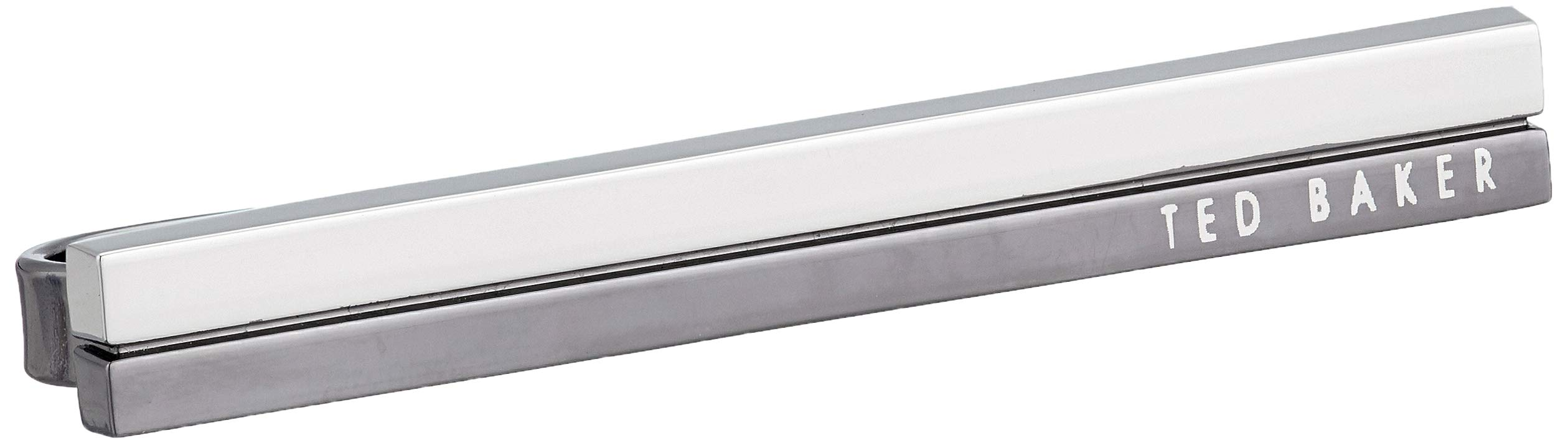 Ted Baker Men's NECROM Tie Bar, gunmetal, O/S