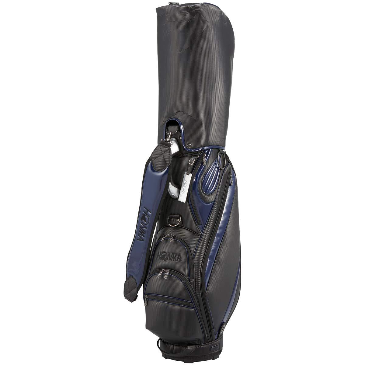 本間ゴルフ キャディーバッグ メンズ HONMA CB1914 メンズ 9 ブラック/ネイビー 本間ゴルフ 9 B07N22B5Y5, ショップハナテック:8fe8677f --- kapapa.site