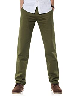 26e675747a Vans Men s Excerpt Chino Straight Trousers  Amazon.co.uk  Clothing