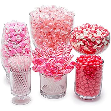 amazon com pink candy kit party candy buffet table health rh amazon com bulk candy for candy buffet cheap purple candy for candy buffet