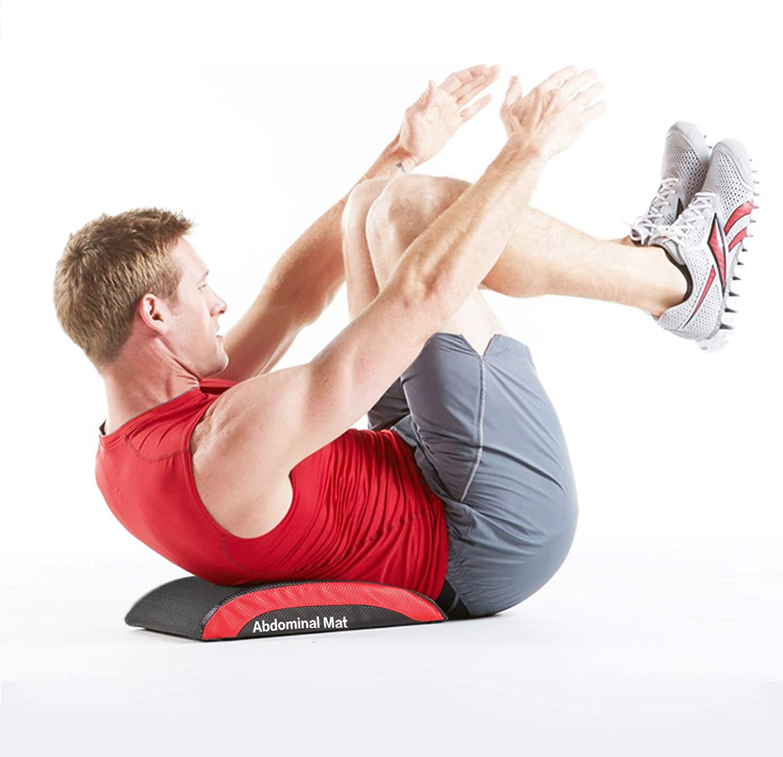 CCLIFE Abdominal Trainer Mat Abmat Sit Up Ab Matte Bauchmatte Fitnessmatte f/ür Bauchtrainer AbMatte AbMatt Ab Crunch Bauchtraining