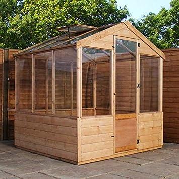 Nova 6 x 6 presupuesto invernadero cobertizo: Amazon.es: Jardín