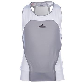 adidas Mädchen Tennis Top S00100 G Tank weißgrau: adidas