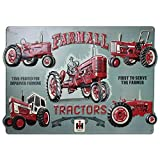 Open Road Brands Farmall Tractor Collage Die Cut Embossed Tin Sign