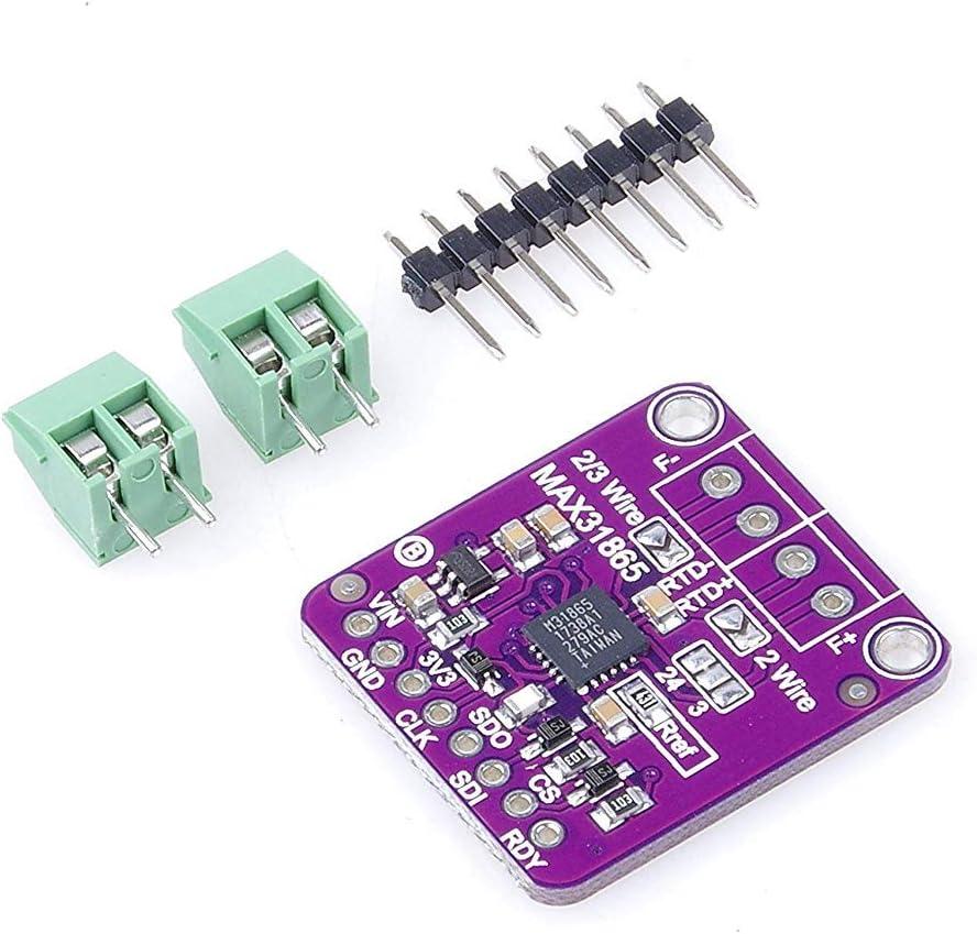 MAX31865 PT100 RTD Amplifier Temperature Thermocouple Sensor Module For Arduino