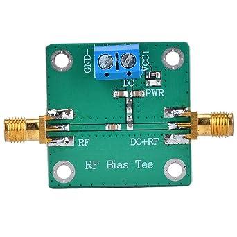 10-6000MHz Bias Tee Module DC Bias Fuente de alimentación Bloques DC Modos de conexión utilizados para la antena activa Amplificador de banda ancha