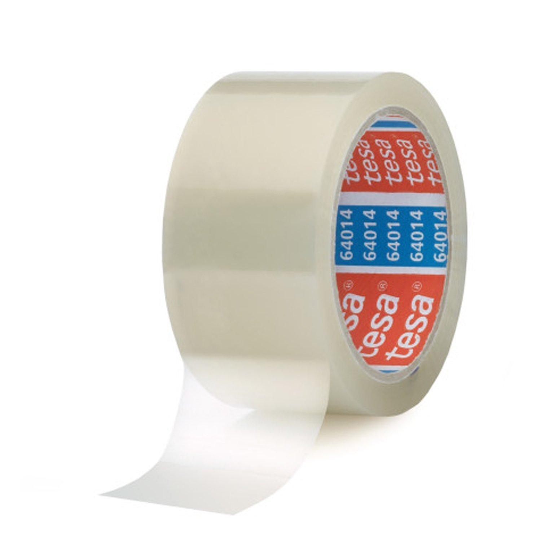 6 Rollen Tesa Klebeband Paketklebeband Packband 66m 50mm transparent ...