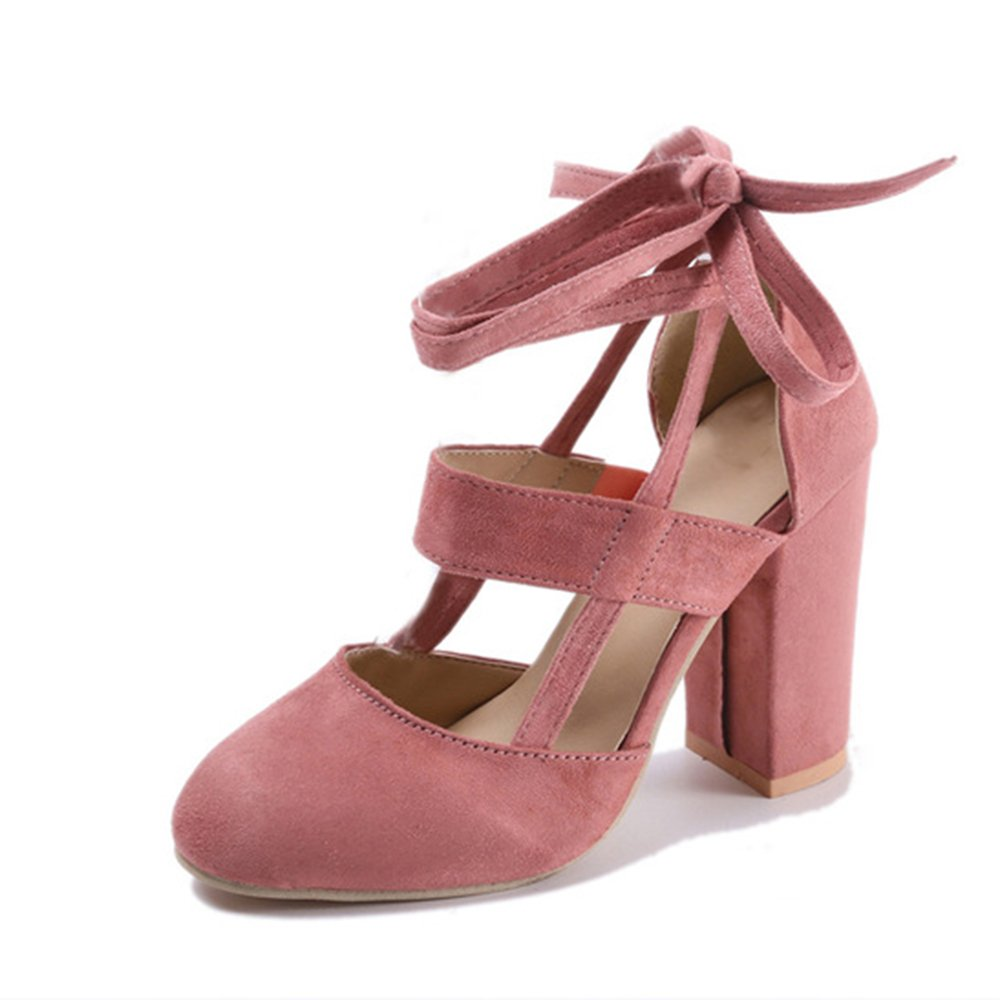 AARDIMI Zapatos de Tacón con Punta Cerrada Mujer
