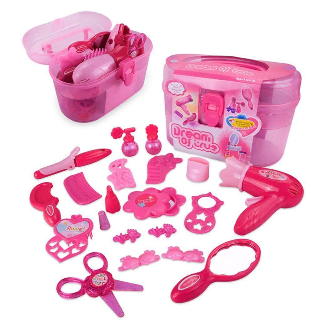 Asatr Children Mini Portable Smooth Simulation Makeup Toy Set Makeup