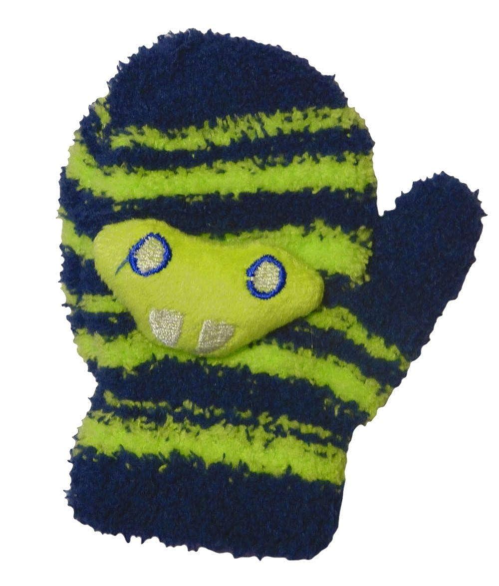 DeDavide Baby Handschuhe Fäustlinge aus Plüsch, Alter 0-18 Monate, verschiedene Farben