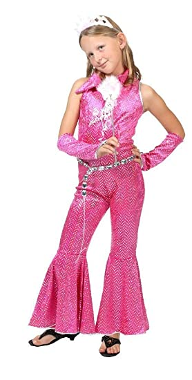 Kostüm Planet Combinaison Disco Rose- Enfant (8/10 ans - 140 ...