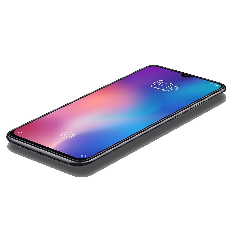 Xiaomi Mi 9 128GB + 6GB RAM - 48MP Ultra High Resolution Camera LTE Factory  Unlocked GSM Smartphone (Global Version) (Piano Black)