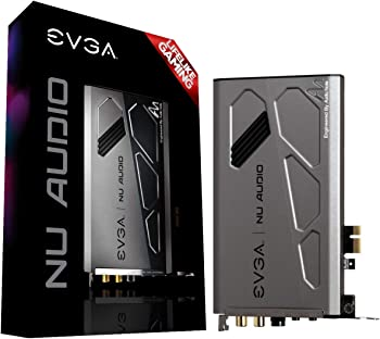 Evga 712-P1-AN01-KR Nu Audio PCIe Sound Card with Audio Note
