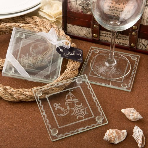 Planning a nautical wedding? Check out a dozen nifty nautical favors from www.abrideonabudget.com.