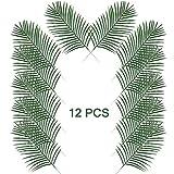 Artificial Palm Leaves Simulation Fake Foliage Artificial Plant Leaves Tropical Long Leaves Home Decoration X 10Pcs