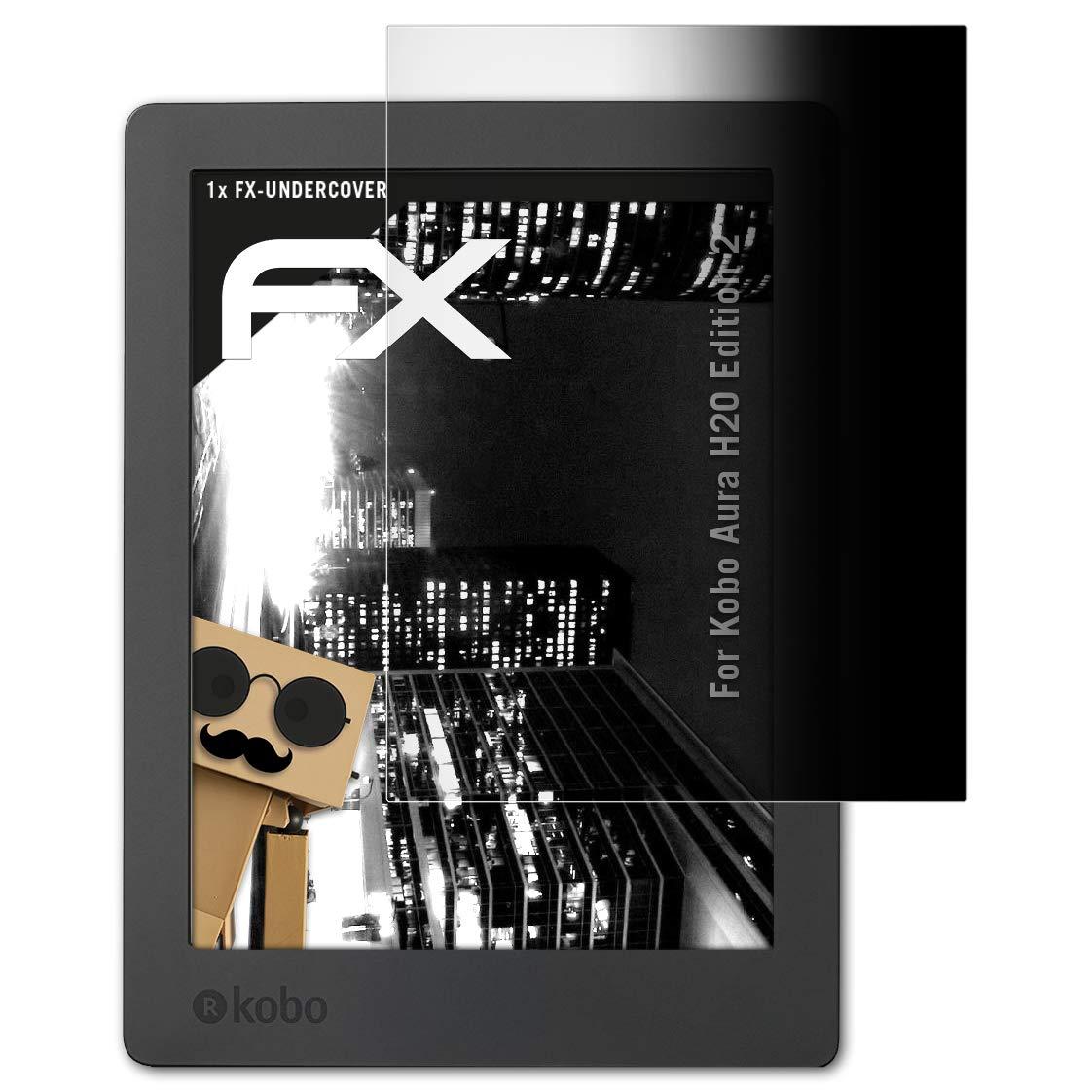 Displayschutz@FoliX Kobo Aura H2O Edition 2 Protector Protección ...