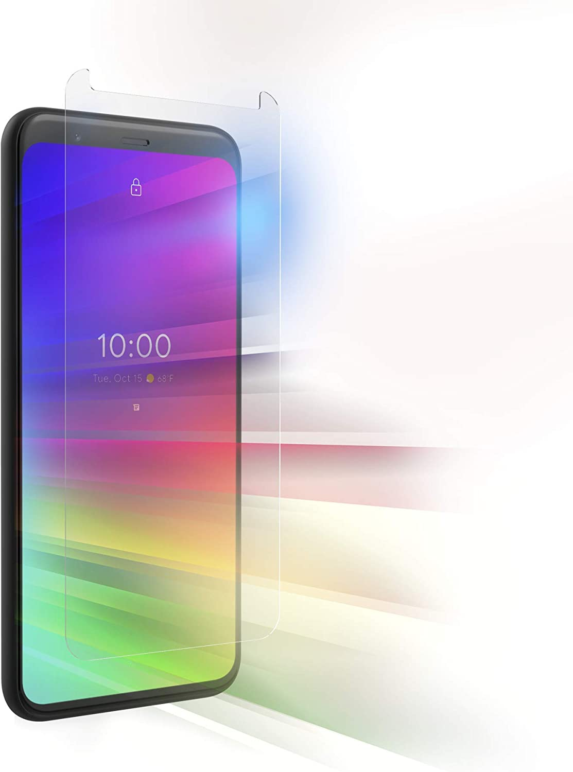 ZAGG InvisibleShield Glass Elite VisionGuard Screen Protector - Made for Pixel 4 - Case Friendly