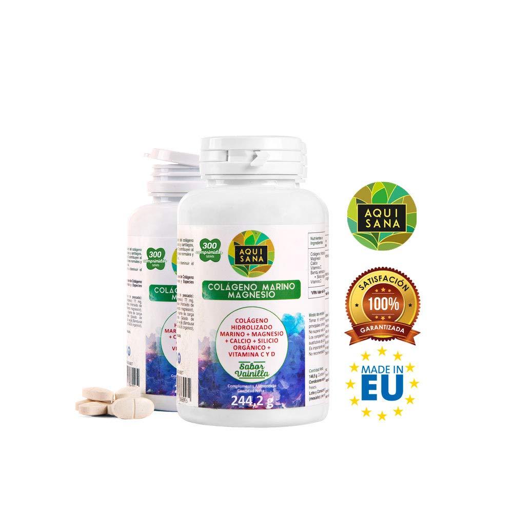 Colágeno Hidrolizado Marino ✔️ Magnesio ✔️ Calcio ✔️ Vitamina C y D ✔️ Huesos Sanos