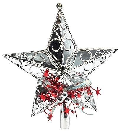 Arbre de noël étoile sapin de Noël étoile Arbre de Noël Pointe Or Argent étoile