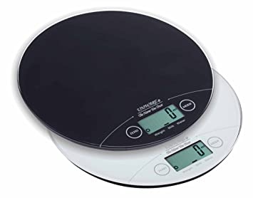 Uniware 8507 Digital Alimentos Escala (capacidad 5 kg/11lb) color al azar (