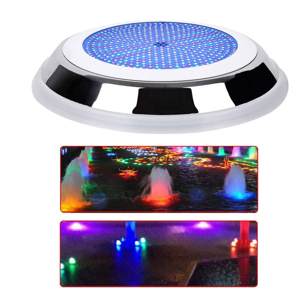 TFCFL Color Changing Swimming Pool Light 252 LEDs Bulb Fixture Underwater