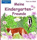 BROCKHAUSEN: Meine Kindergarten-Freunde: Tiere im Wald - Freundebuch für Mädchen