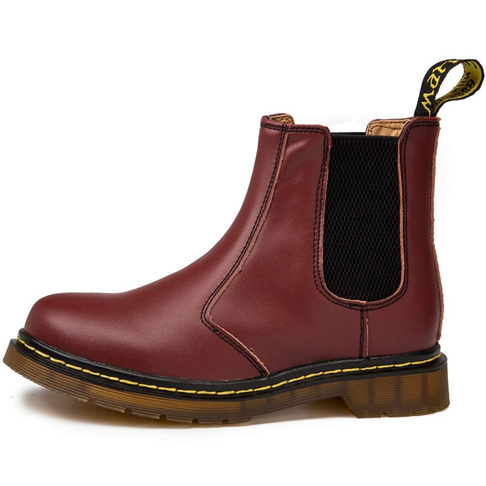 Dreamone Chelsea Boots Damen Herren Worker Boots Kurzschaft Winter Stiefel  Wasserdicht Stiefeletten Schuhe 10b49c4089
