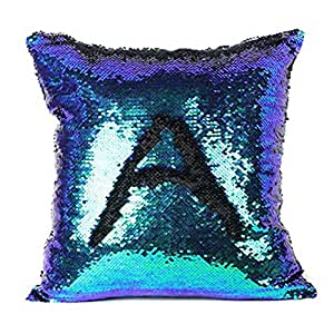 Amazon Com Mermaid Reversible Sequin Throw Pillow Case