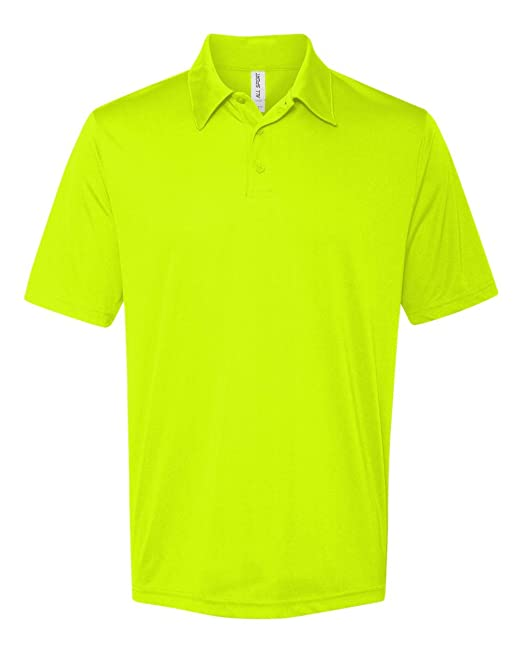 M1809 ALO M1809 MEN SS PERFRMNC POLO SPORT SFTY YLLOW S: Amazon.es ...