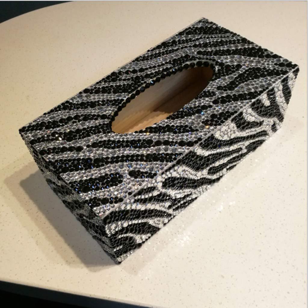 rotolo di fazzoletti punto croce app.23x12x8cm//9.06x4.72x3.15inch 01 forma speciale Scatola porta fazzoletti gioielli per pittura a mosaico fai da te