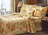 Antique Rose - Quilt SET- Full/Queen
