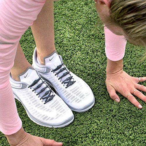 Las Performance Zapatillas Elásticos Carbón Funciona Con 14 Todas Hickies Unidades Cordones No tie 2 0 qwHxOY7