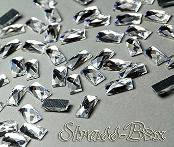 Hotfix DMC Tropfen CRYSTAL 7x10mm  Stückzahl wählbar  klar Glas Strasssteine