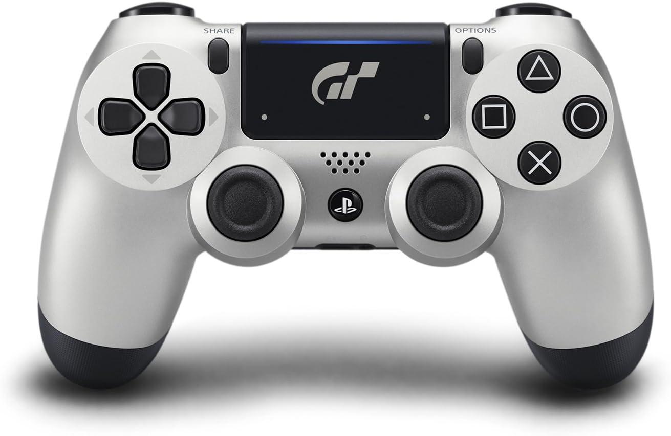 Control Dualshock 4 edición plateado Gran Turismo Sport xmp