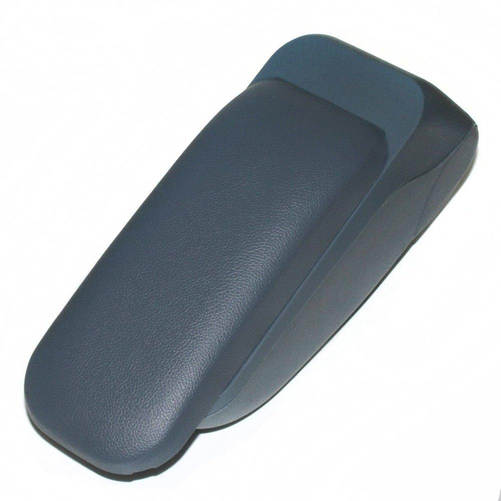 Boloromo 48013 Apoyabrazos Consola Central Reposabrazos Tuning Acolchado Soporte Caja de Consola Gris