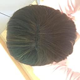 Amazon 人毛100 の前髪ウィッグ おしゃれ用 円形脱毛用 栗毛色 ポイントウィッグ 通販