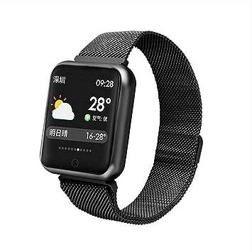 Amazon.com: P68 Reloj inteligente para hombres y mujeres ...
