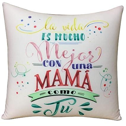 Amazon.es: ARTEMODEL-la Vida... Mama cojín Lycra peq, (1 ...