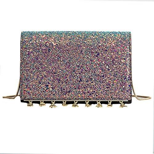 Bag Bags Transparent Mini Handbags PVC Crossbody Meliya Women Bags Shoulder Multicolor Laser Evening Holographic 1 Square Messenger PpwqxBUxA