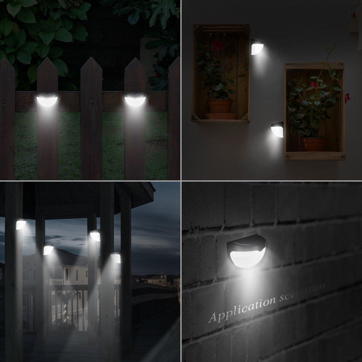 Amir LED Solarleuchte,Wandleuchte/ Wasserdicht Gartenleuchte ...