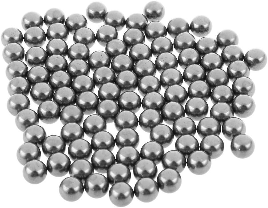 144 piezas 6.35 mm Gurpil 31105 Bolas de acero para rodamientos de 1//4