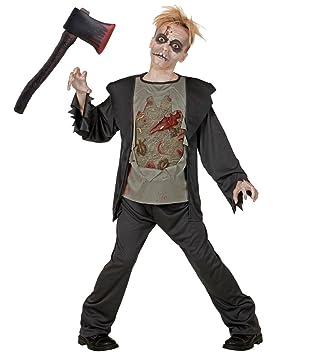 Karneval Klamotten Horror Kostum Kinder Jungen Mit Beil Halloween